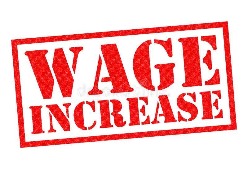 Aumento salariale illustrazione vettoriale