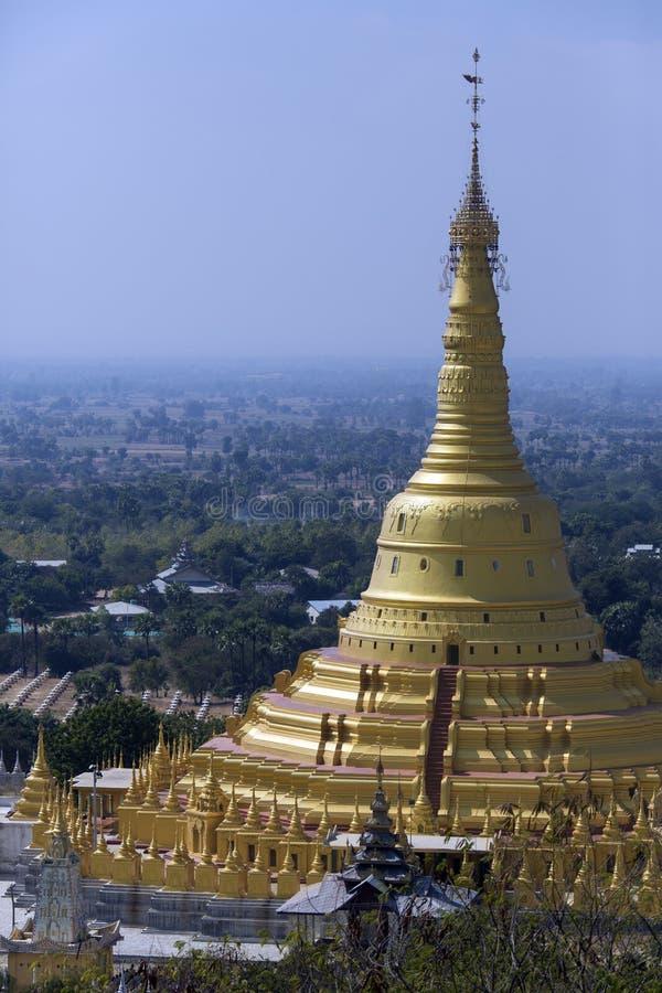 Aung Setkaya Pagoda - Monywa - Myanmar royalty free stock images