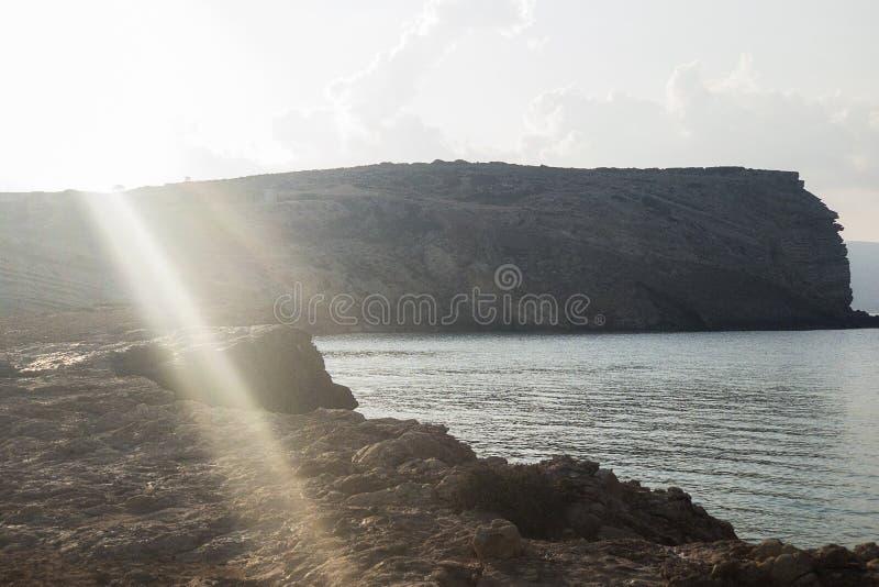 Aunque haya poca conciencia entre las islas de Cícladas, es un koufonisia de la isla que atrae la atención con su beautif fotos de archivo