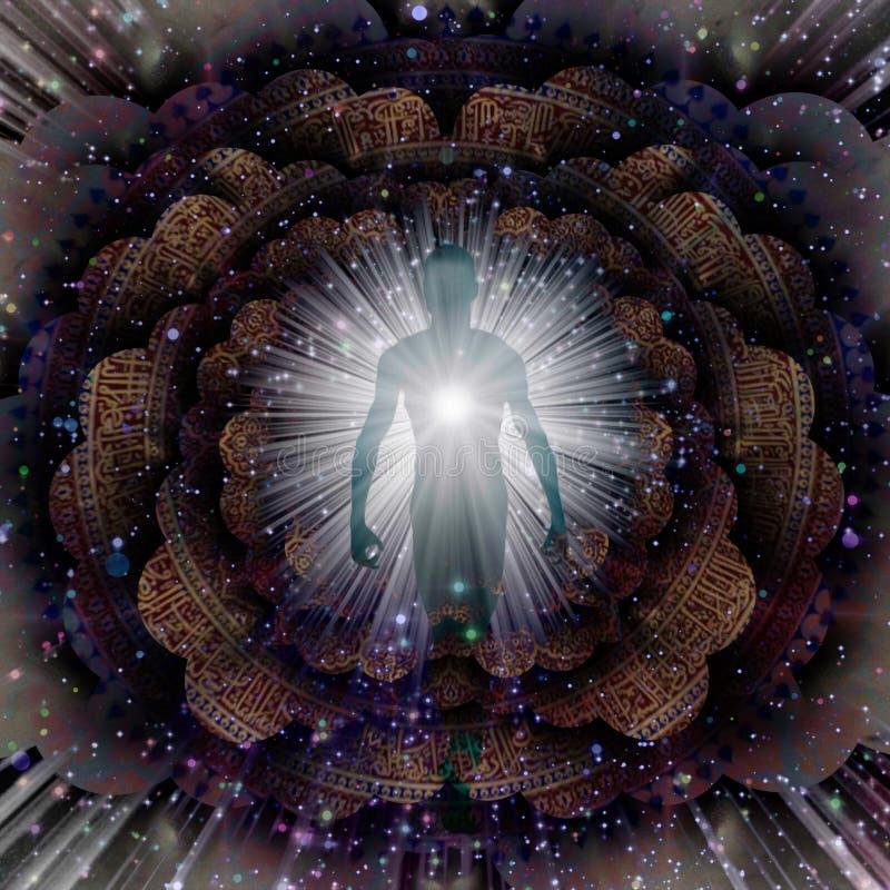 aura ilustração royalty free