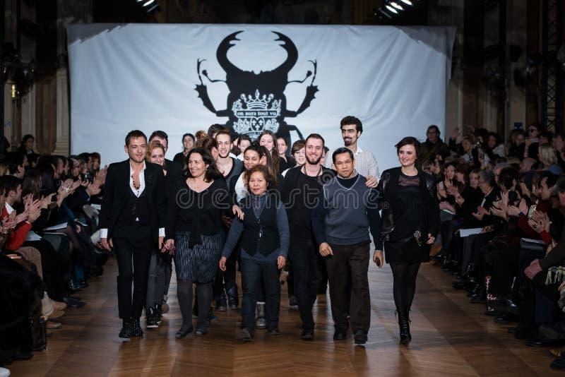 On aura tout vu spring summer 2013 fashion show stock photos