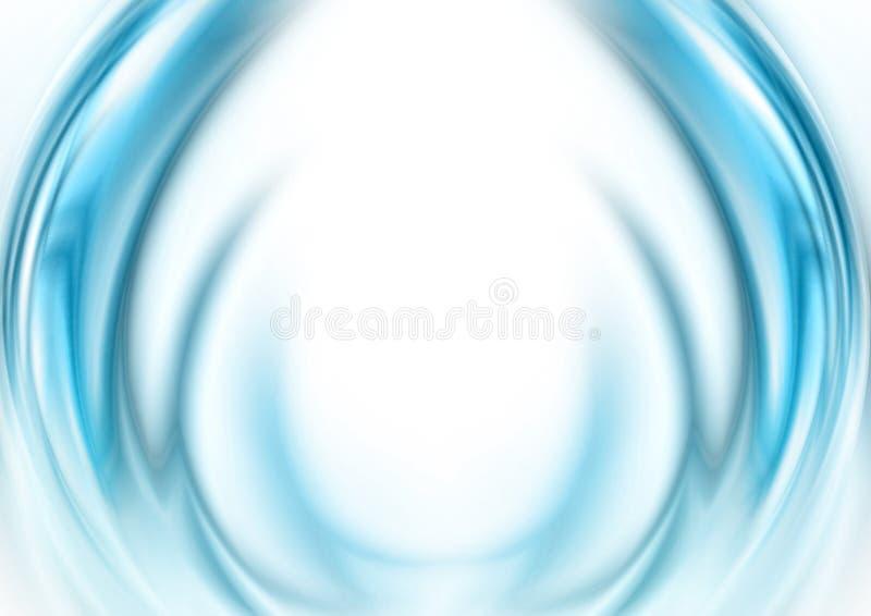 Aura translúcida abstrata ilustração stock