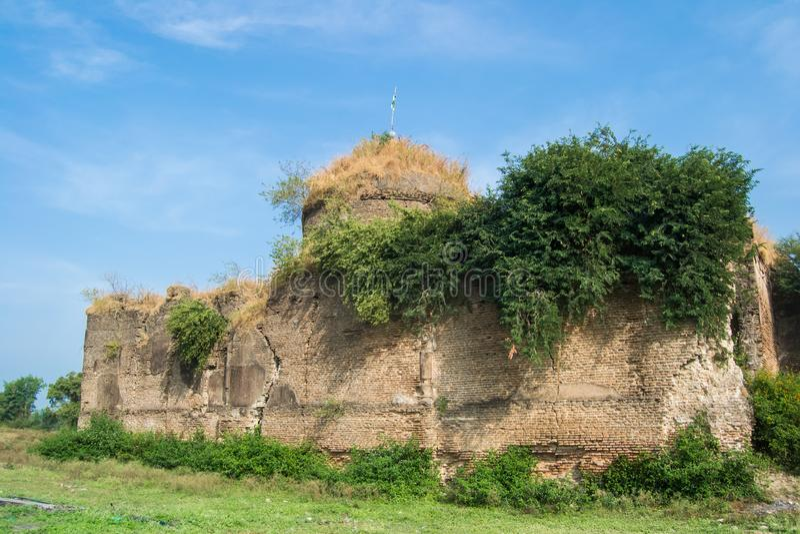 Aurangzeb Alamgir moské Indore royaltyfria bilder
