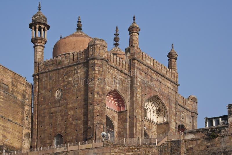 Aurangzebs Mosque - Varanasi - India stock photo
