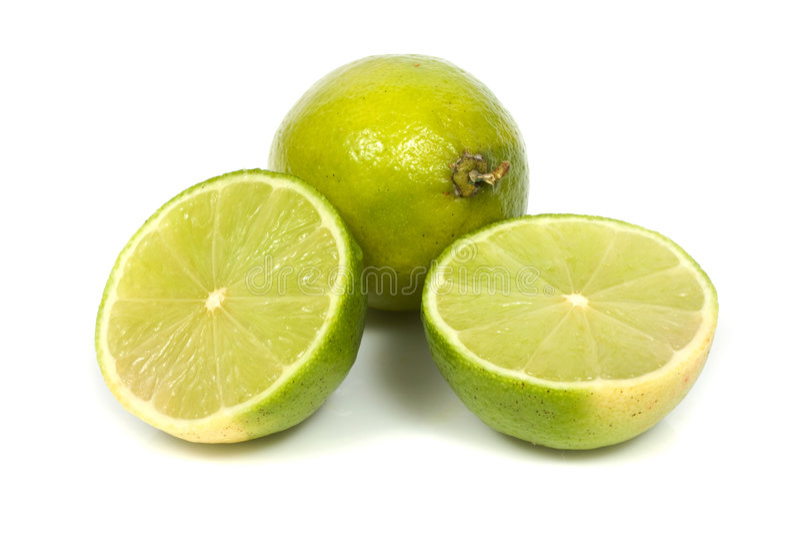 aurantifolia柑橘石灰 免版税库存图片