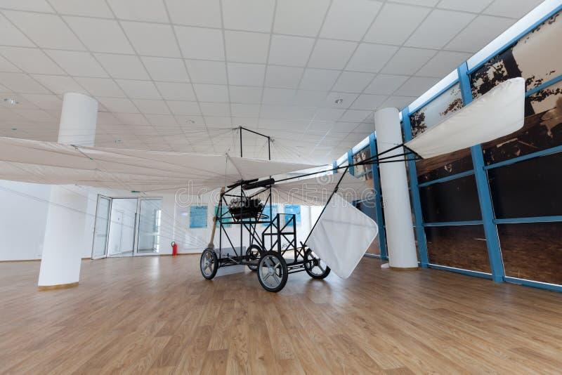 Aurel制造的飞机的复制品Vlaicu 库存照片