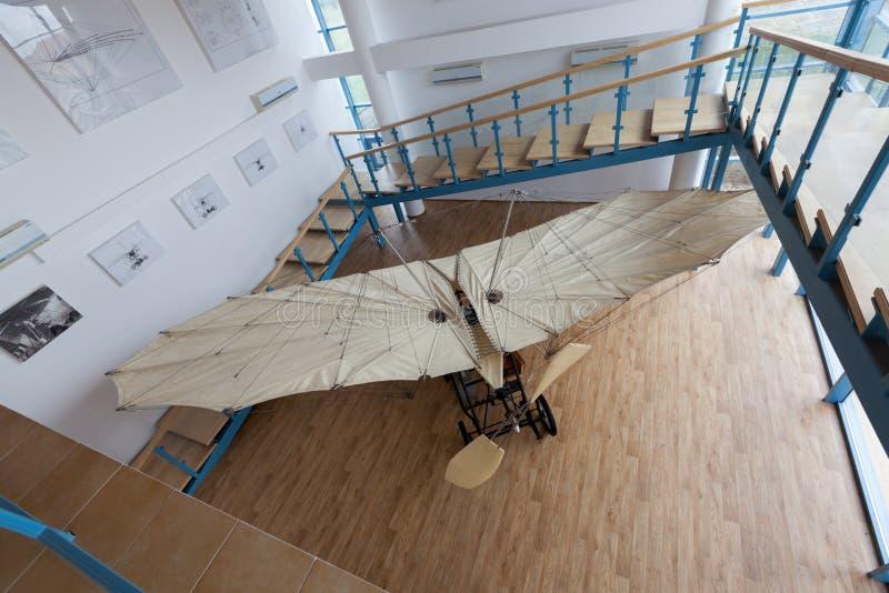 Aurel制造的飞机的复制品Vlaicu 免版税库存图片