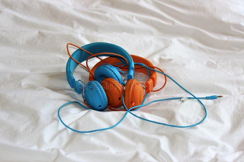 Auriculares foto de archivo