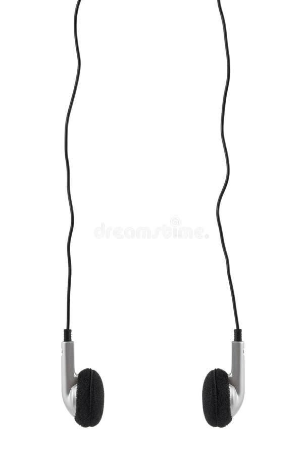 Auriculares y cable fotos de archivo