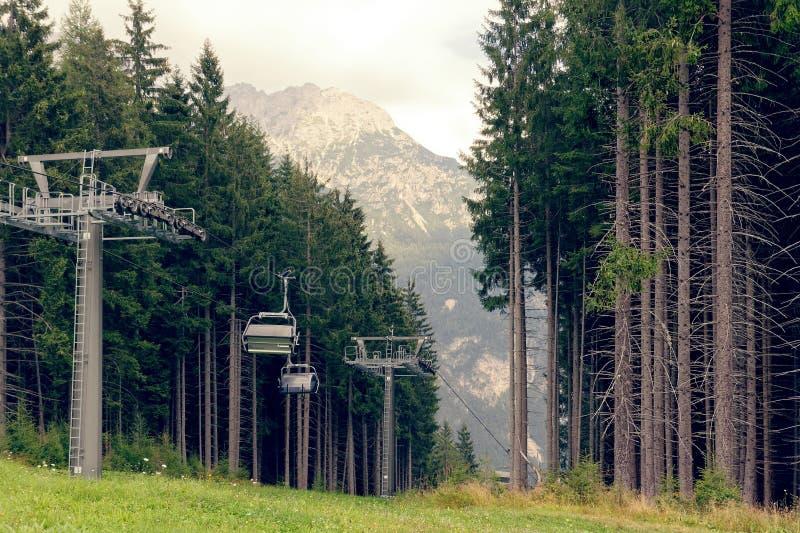 Auronzo di Cadore, Италия: Подъем горы летом стоковые фото