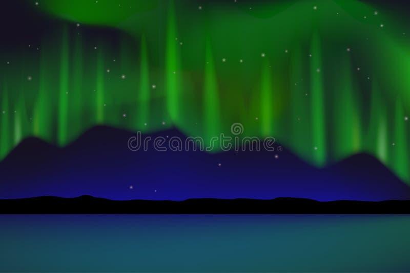 Aurora foto de archivo libre de regalías