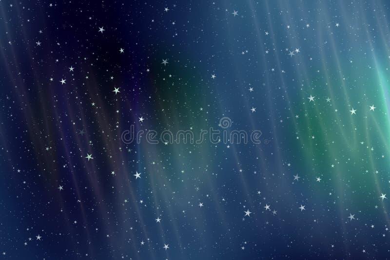 Aurora ilustração stock