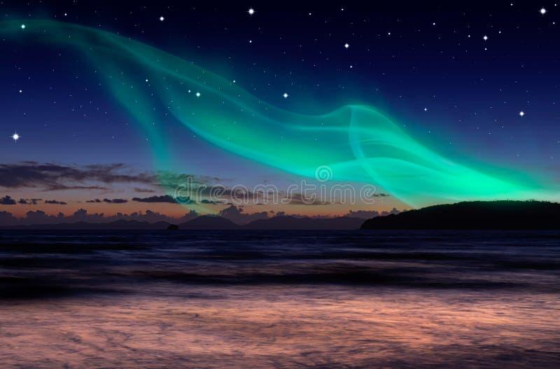 Aurora imagem de stock