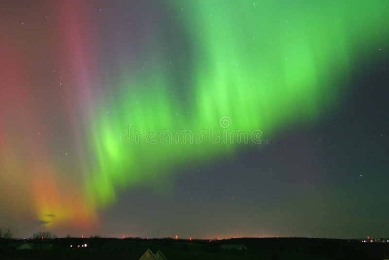 Download Aurora stock image. Image of aurora, night, green, auroras - 204545