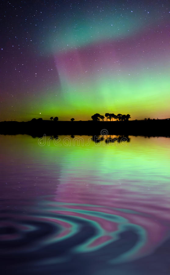 Aurora imagens de stock royalty free