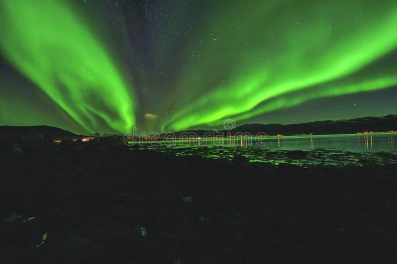 aurora fotografie stock libere da diritti
