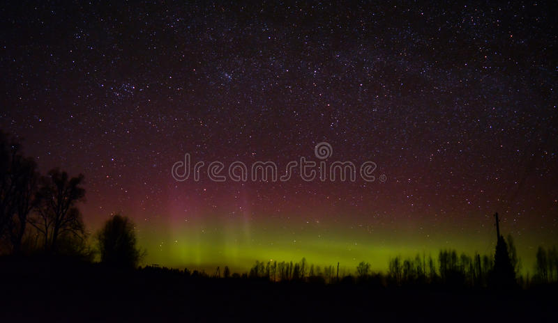 aurora royalty-vrije stock fotografie