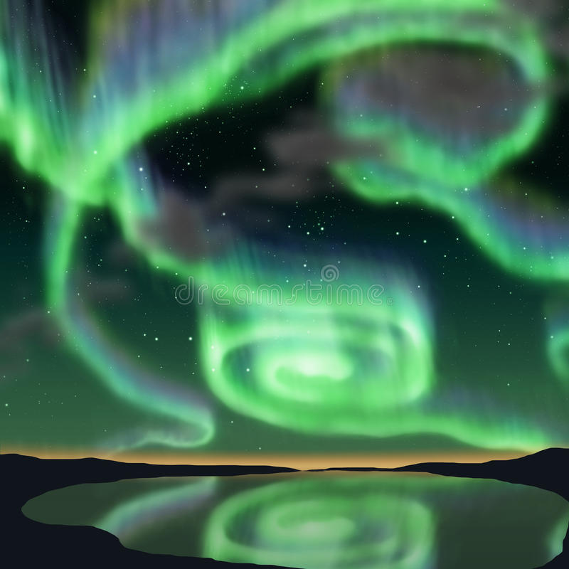 aurora stock illustratie