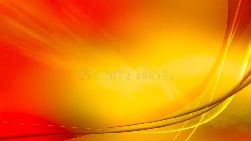 Aurora ardiente, papel pintado de la resolución 4k ilustración del vector