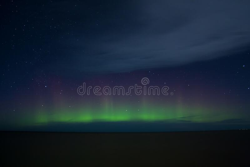 Aurora, Atmosphere, Sky, Atmosphere Of Earth royalty free stock image