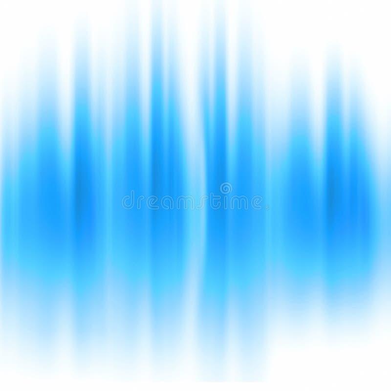 Aurora azul ilustração royalty free
