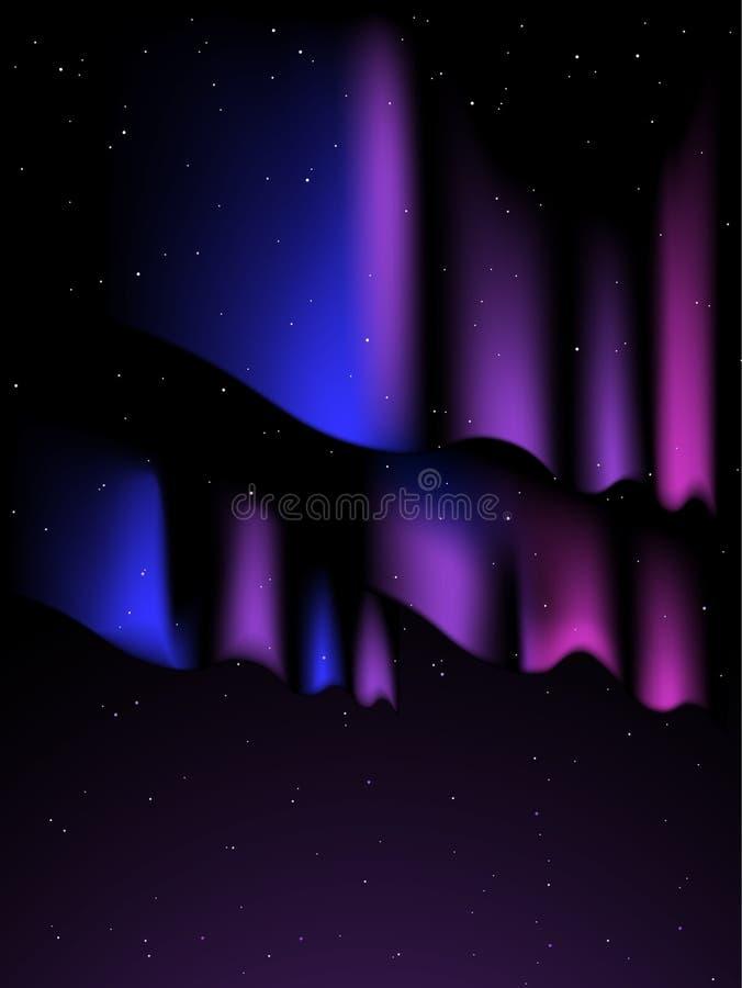 Aurora background