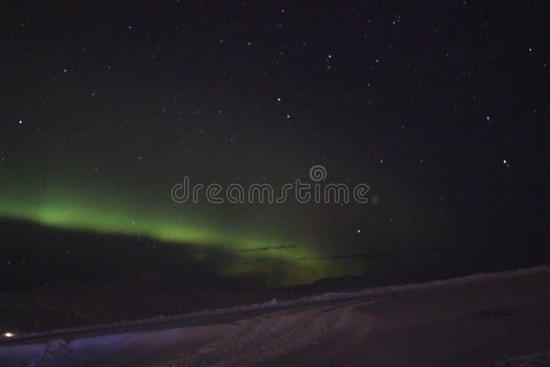 A aurora boreal fotos de stock royalty free