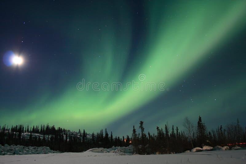 Aurora Borealis 1 foto de archivo libre de regalías