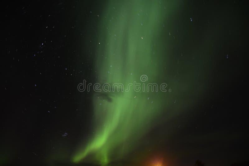 Aurora Borealis foto de stock