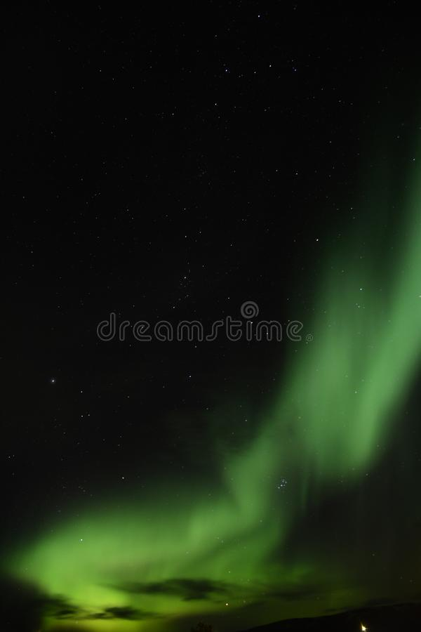 Aurora Borealis immagini stock