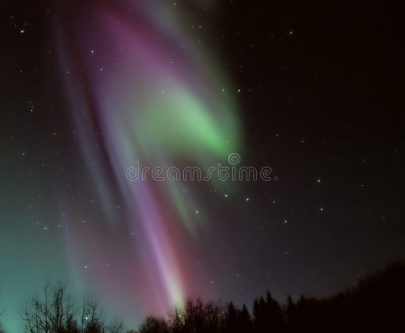 Aurora Borealis fotografia stock libera da diritti