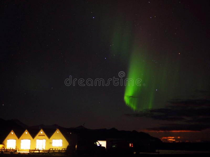 Aurora Borealis royaltyfria bilder