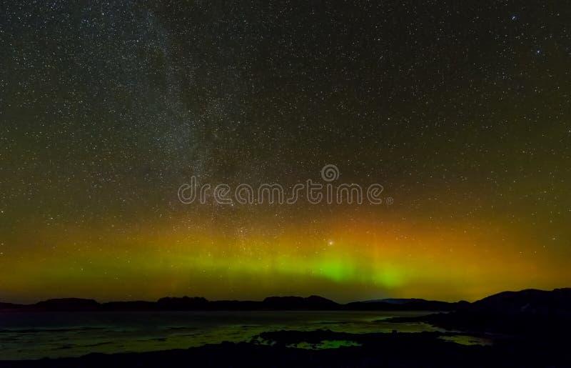 Aurora Borealis fotografia de stock