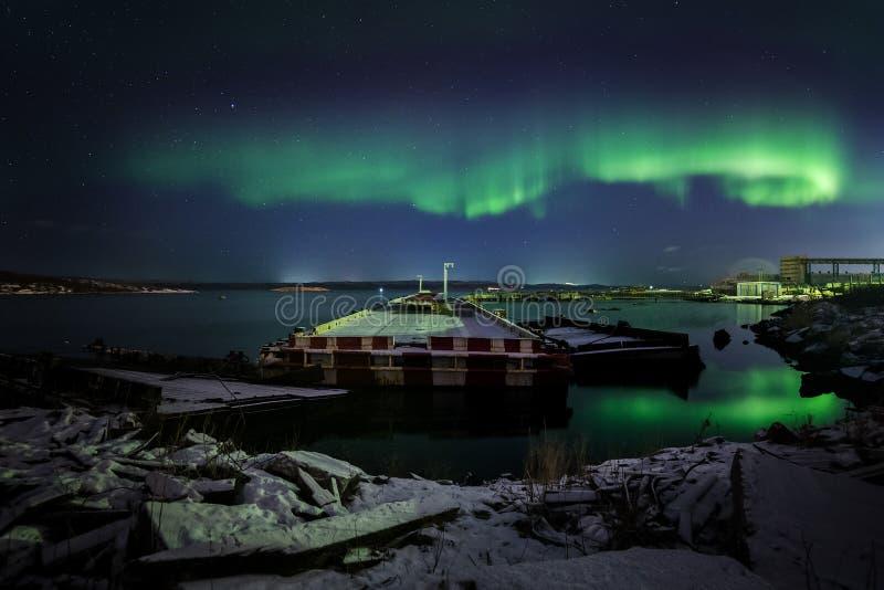 Aurora Borealis royalty-vrije stock fotografie