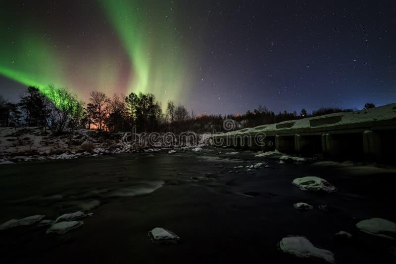 Aurora Borealis stock foto