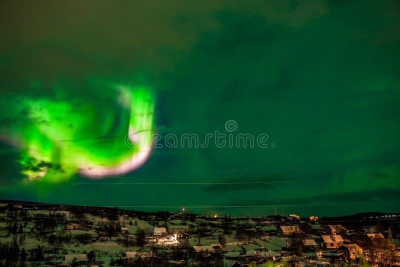 Aurora Borealis stock foto's