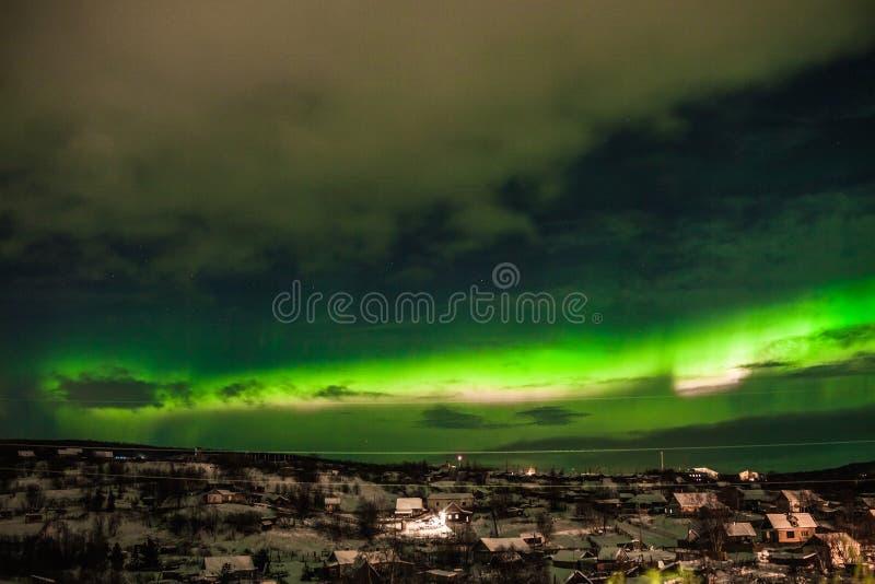 Aurora Borealis royalty-vrije stock foto's