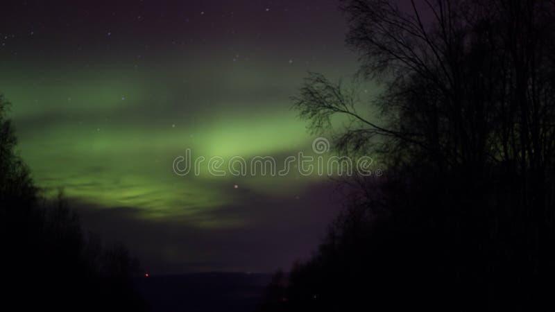 Aurora Borealis photographie stock libre de droits