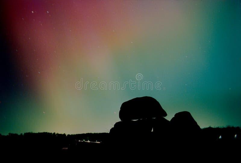 Aurora Borealis royaltyfria foton