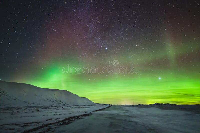 Aurora Borealis imagen de archivo