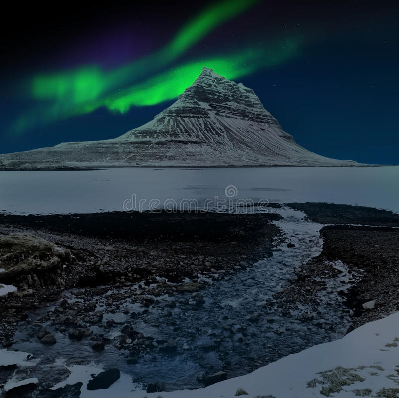 Aurora Borealis imagem de stock