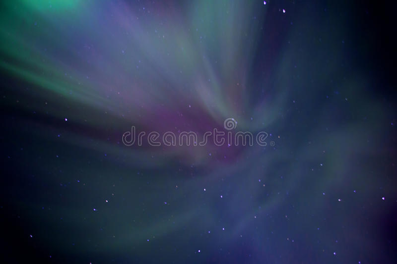 Aurora borealis. Also known as northern lights, Iceland stock photography