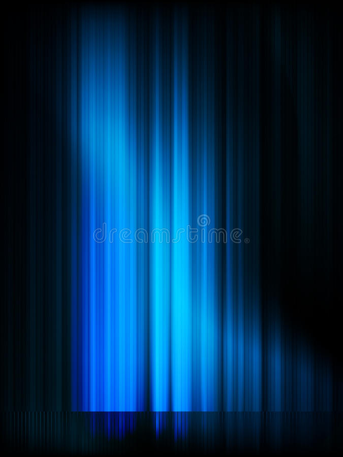 Aurora Borealis. Colorful Abstract. EPS 10 Stock Photo