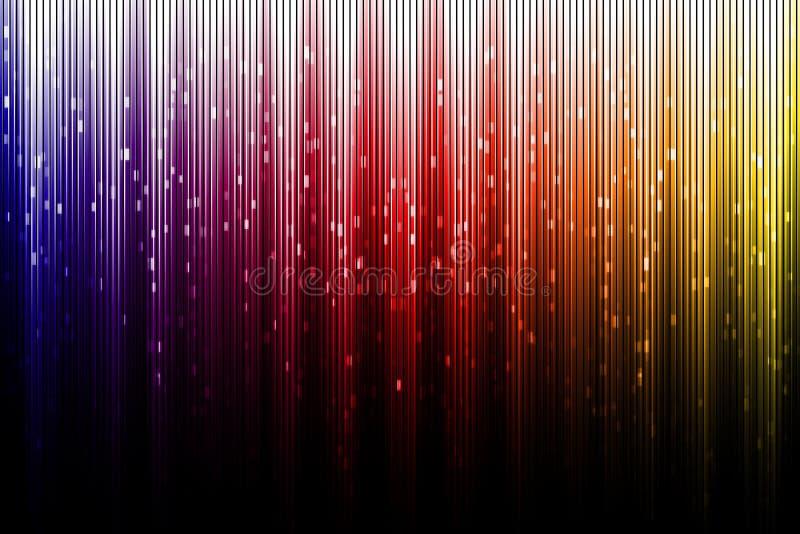 Aurora borealis digital artístico foto de stock royalty free