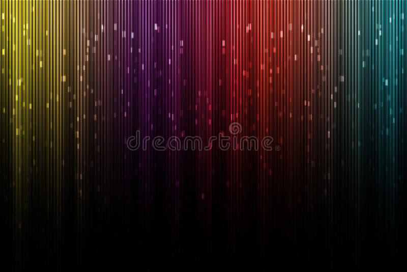 Aurora borealis digital artístico imagem de stock royalty free