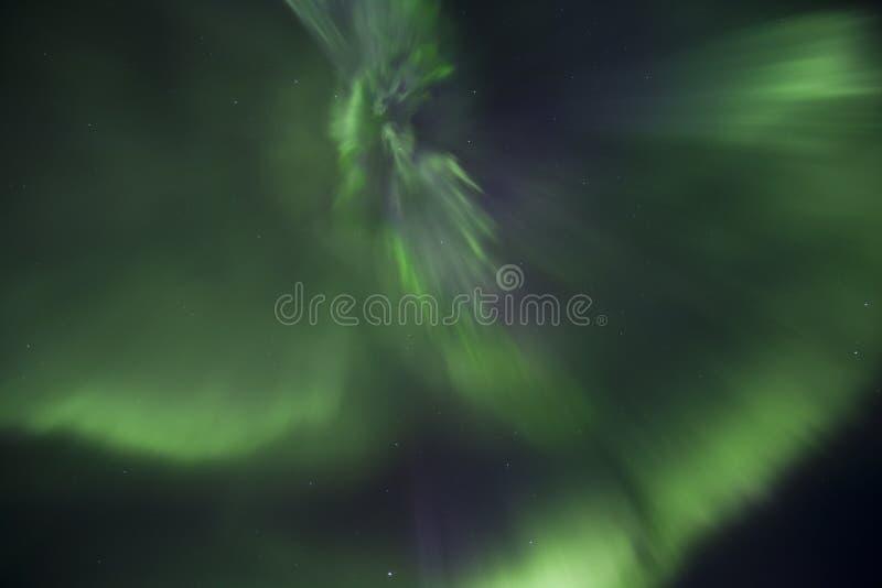 Aurora Borealis in Lapponia finlandese immagine stock libera da diritti