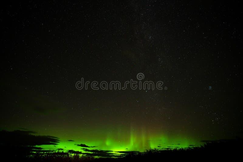 Aurora Borealis Northern-lichten royalty-vrije stock afbeeldingen