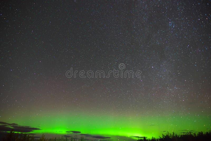 Aurora Borealis Northern-lichten royalty-vrije stock fotografie
