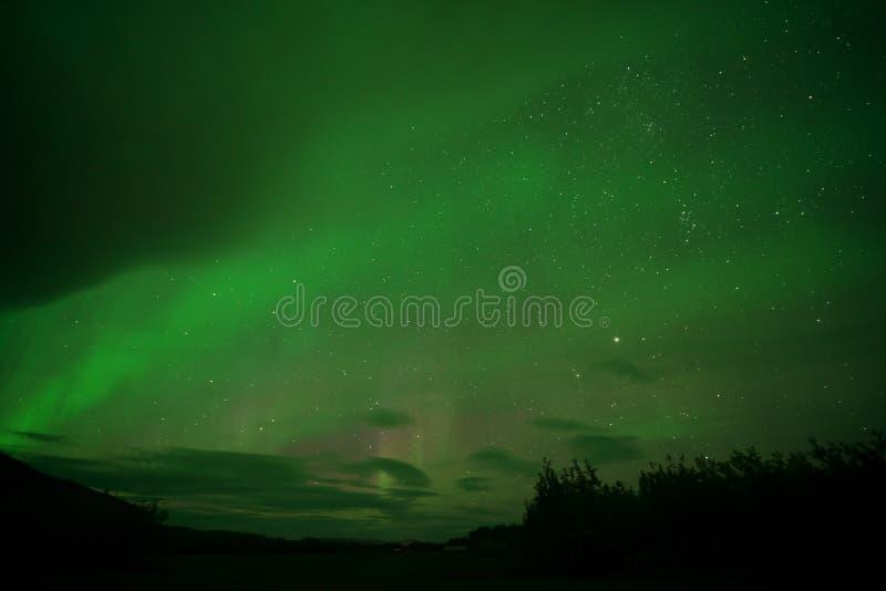 Aurora Borealis Northern-lichten stock fotografie