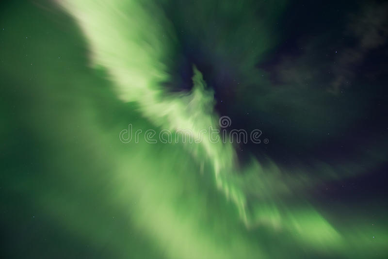 Aurora borealis or Northern lights, Iceland royalty free stock photos